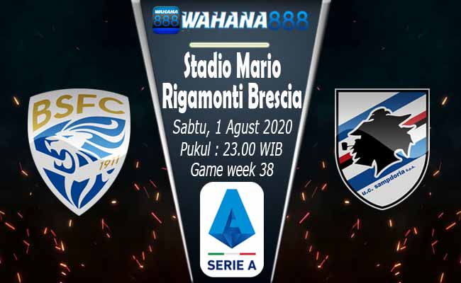 Prediksi Brescia vs Sampdoria, Game of Chain Breaking Kekalahan